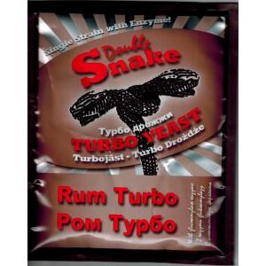 Спиртовые турбо дрожжи DoubleSnake Rum, 70 грамм
