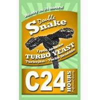 Турбо дрожжи DoubleSnake C24, 175 грамм