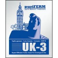 Спиртовые турбо дрожжи Puriferm UK-3