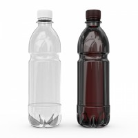 Бутылка ПЭТ 0,5 литра с крышкой