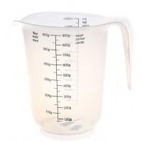 Кувшин пластиковый мерный прозрачный 1 литр