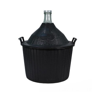 Бутыль в пластиковой корзине 54 литра